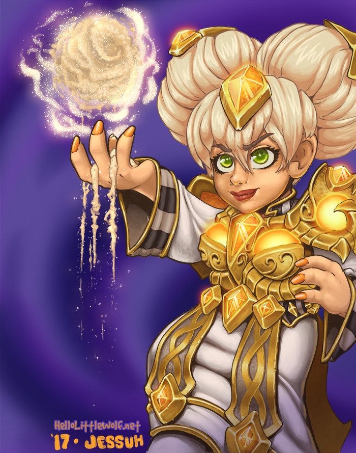 Chromie, a character from the game Heroes of the Storm