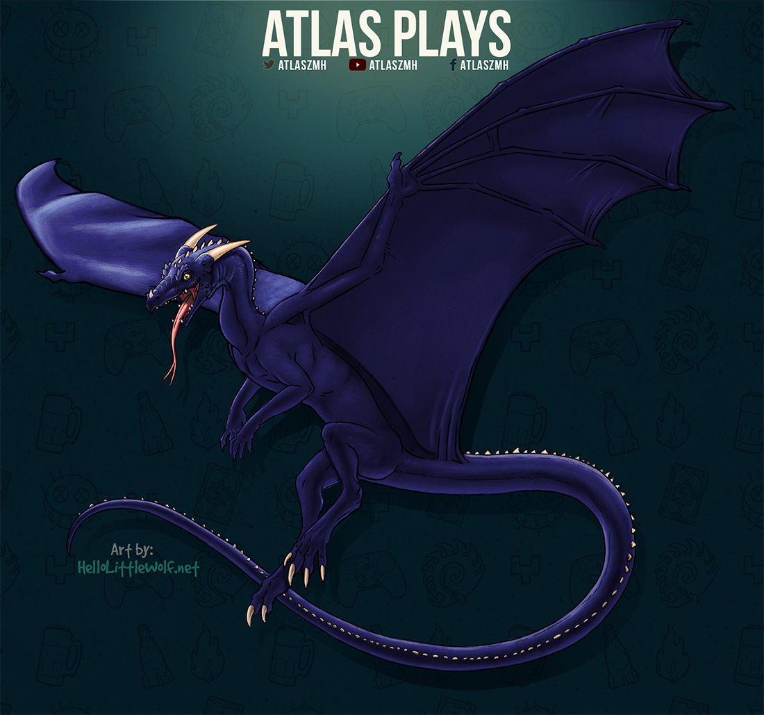 The AtlasPlays Dragon