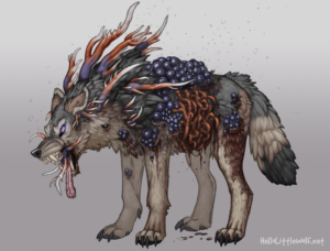 Fungal wolf concept